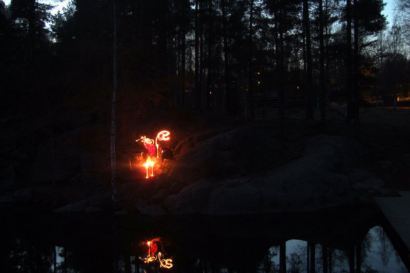 lightpainting I
