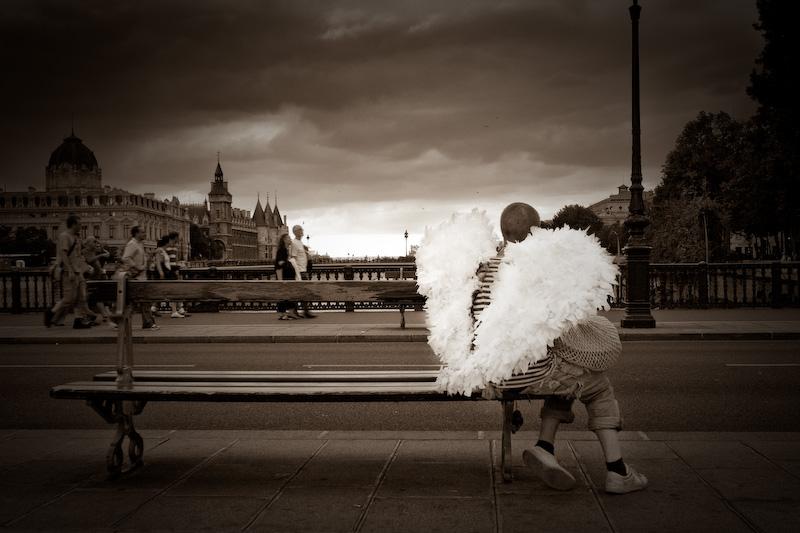 Resting Angel.