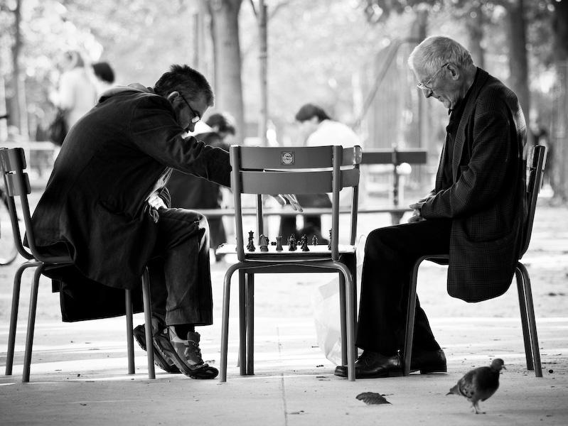 Chess mates.
