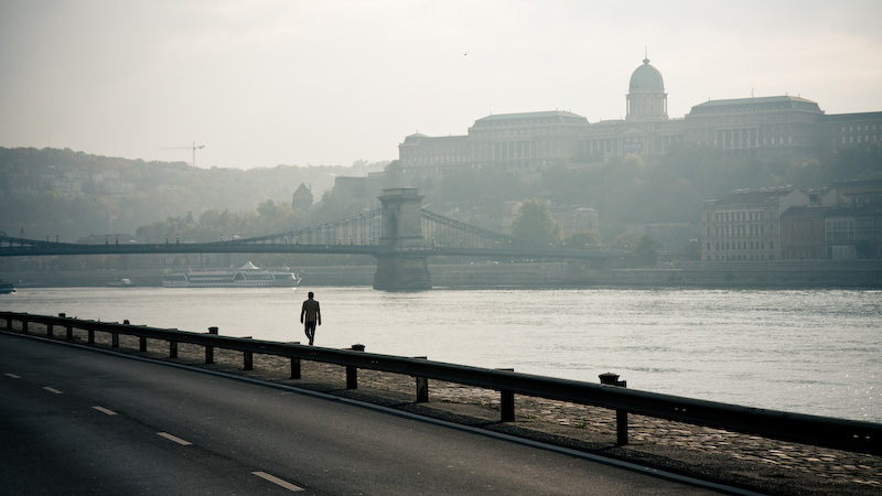 In Front of Buda.