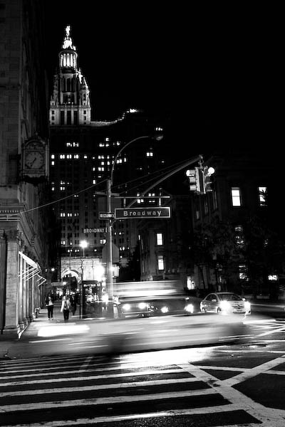 First night on Broadway