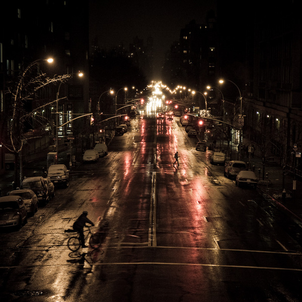 Amsterdam Avenue from Colombia University