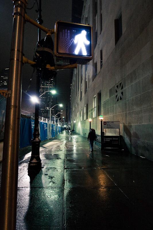 Walk near WTC.