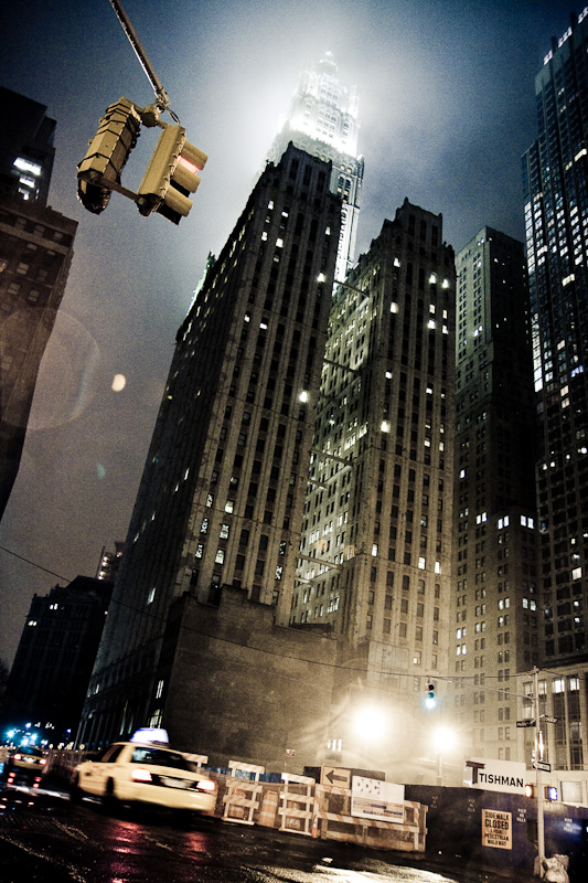 Gotham City Taxi.