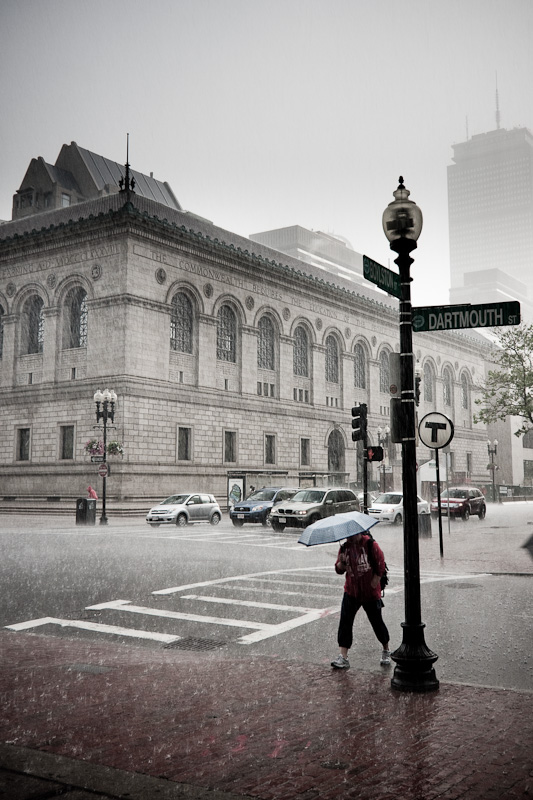 A Rainy Day on Darmouth St.