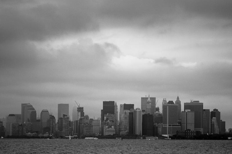 Manhattan from Staten Island ferry.