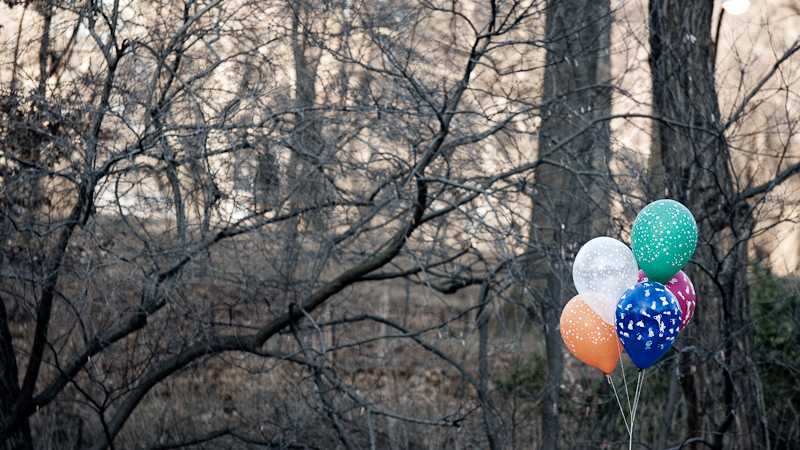 Central park balloons.