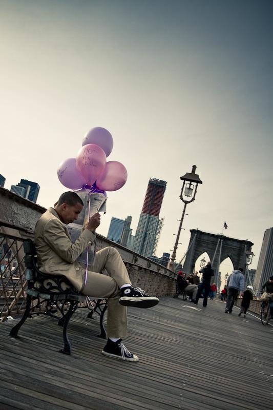 Brooklyn Bridge Balloons.
