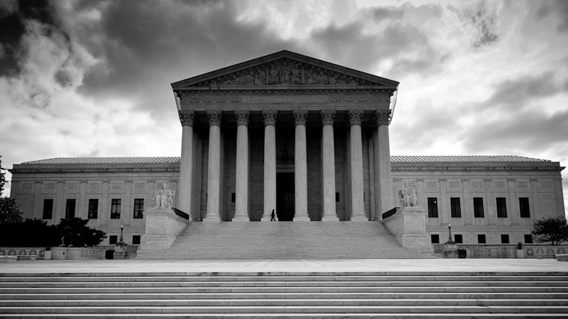 The US supreme court of Justice.