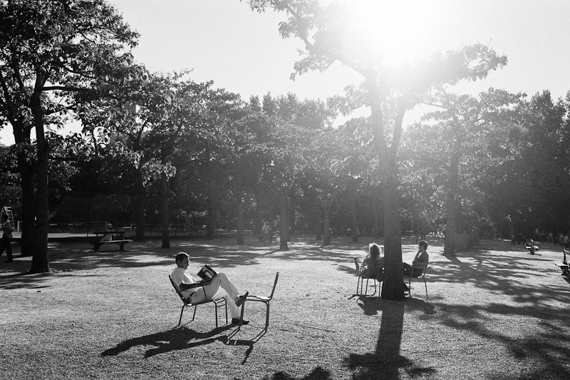 A book at Jardin du Luxembourg.