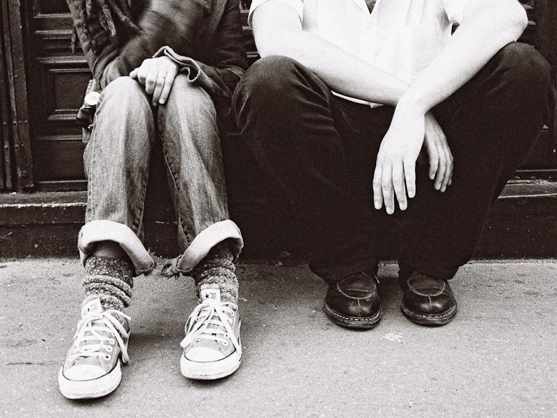 Jax and Jérôme's shoes.