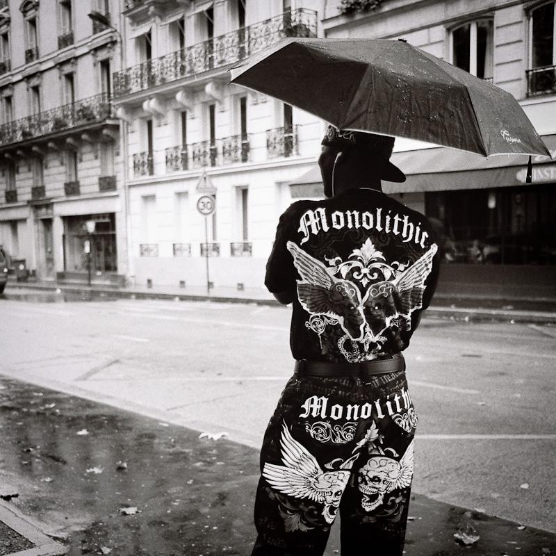 Monolithic.