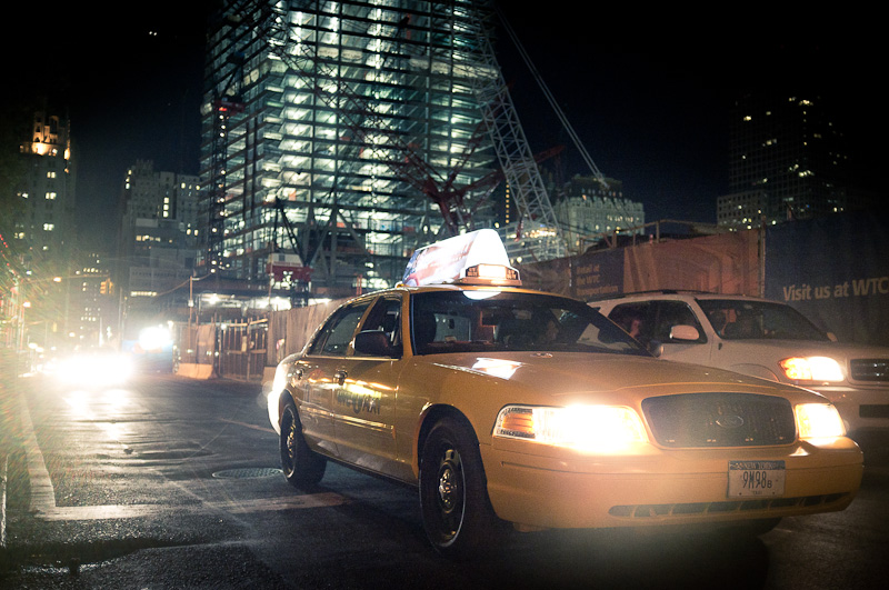 Taxi and future tower 4.