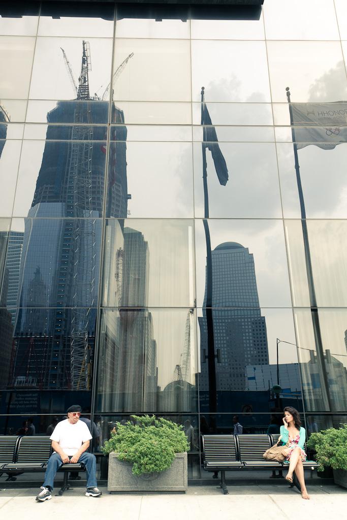 Facing WTC.