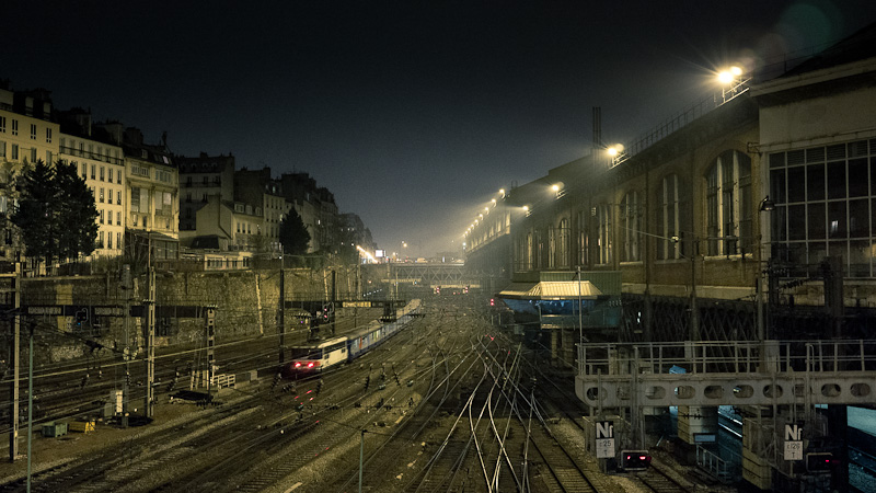 The tracks under Europe's square.