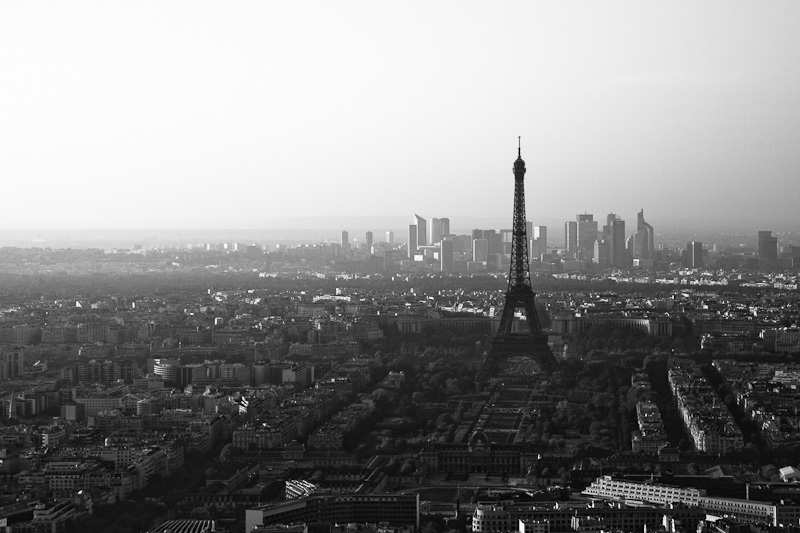 The Eiffel Tower from Montparnasse.