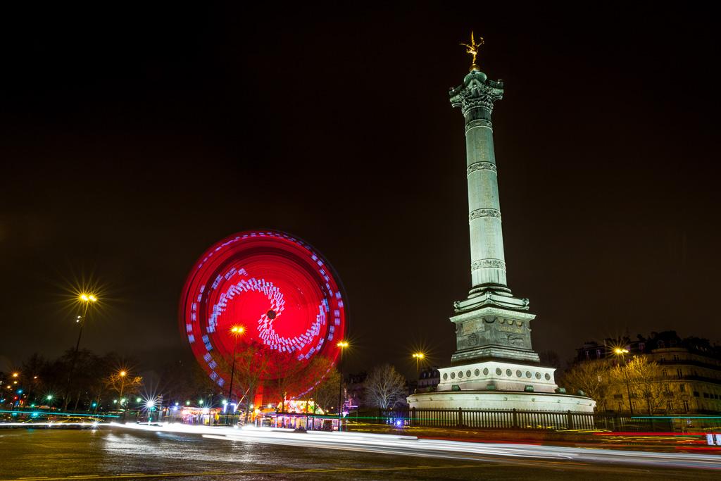 Spinning Bastille.