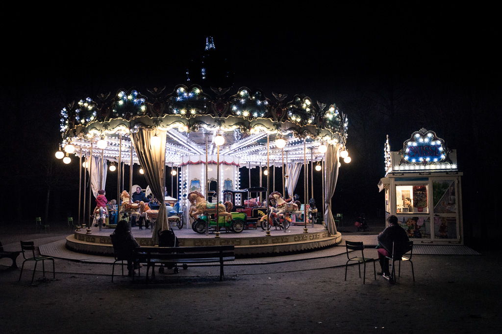 The Carrousel of the Tuileries