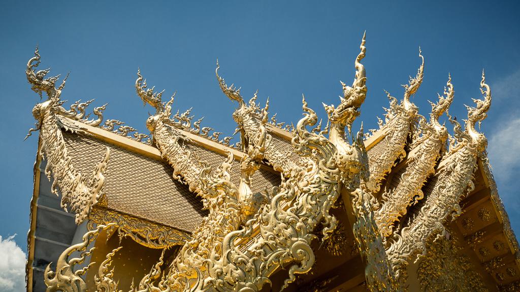 Golden roof.