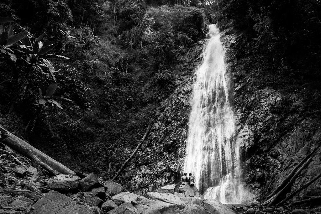 Khun Korn Waterfall.