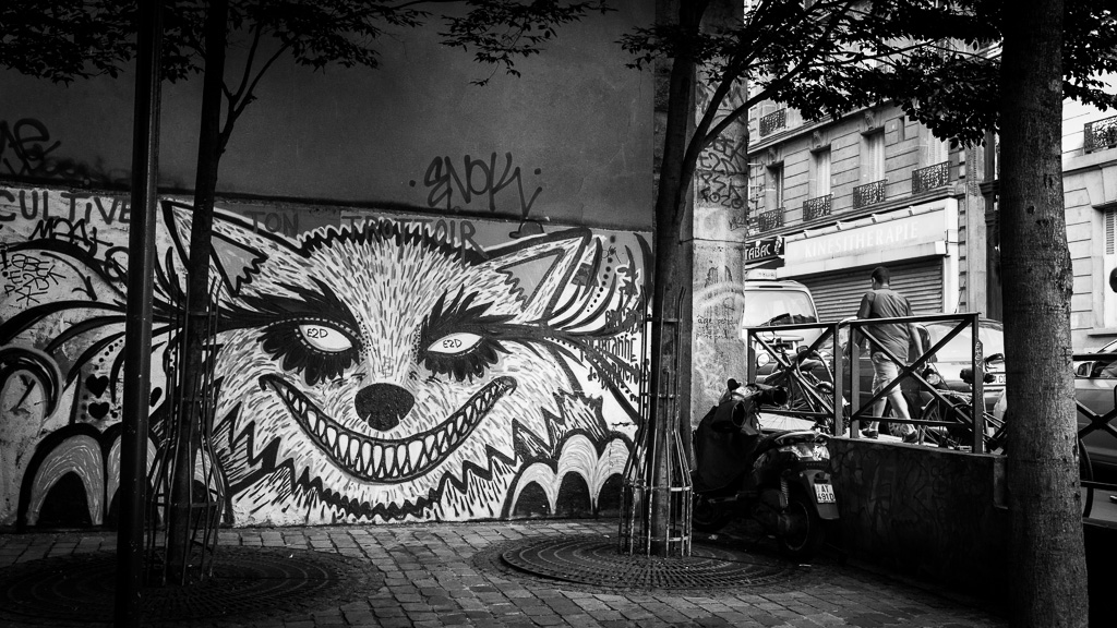 The big bad city wolf.