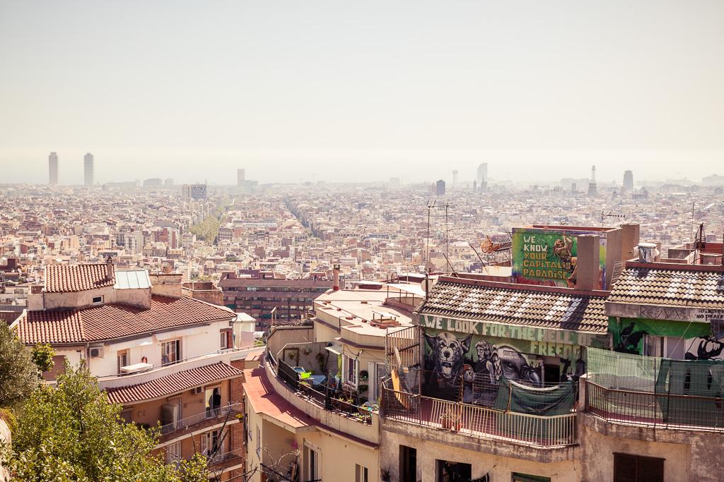 Paradise in Barcelona.