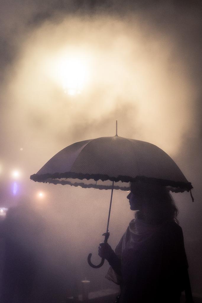 Clémence in the Mist.