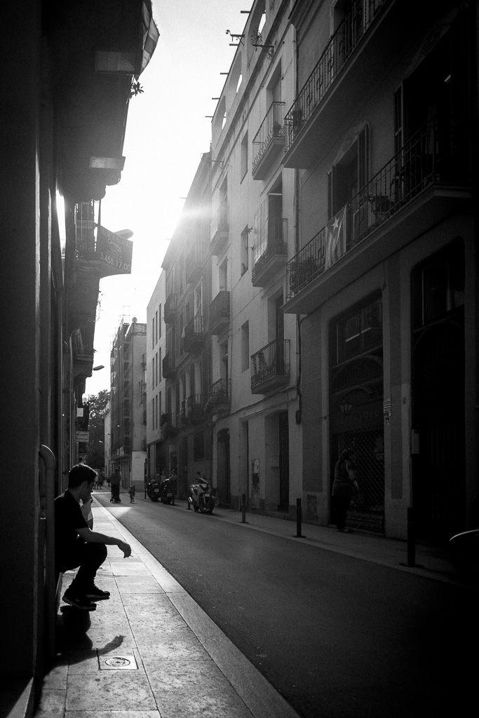 Street calling.
