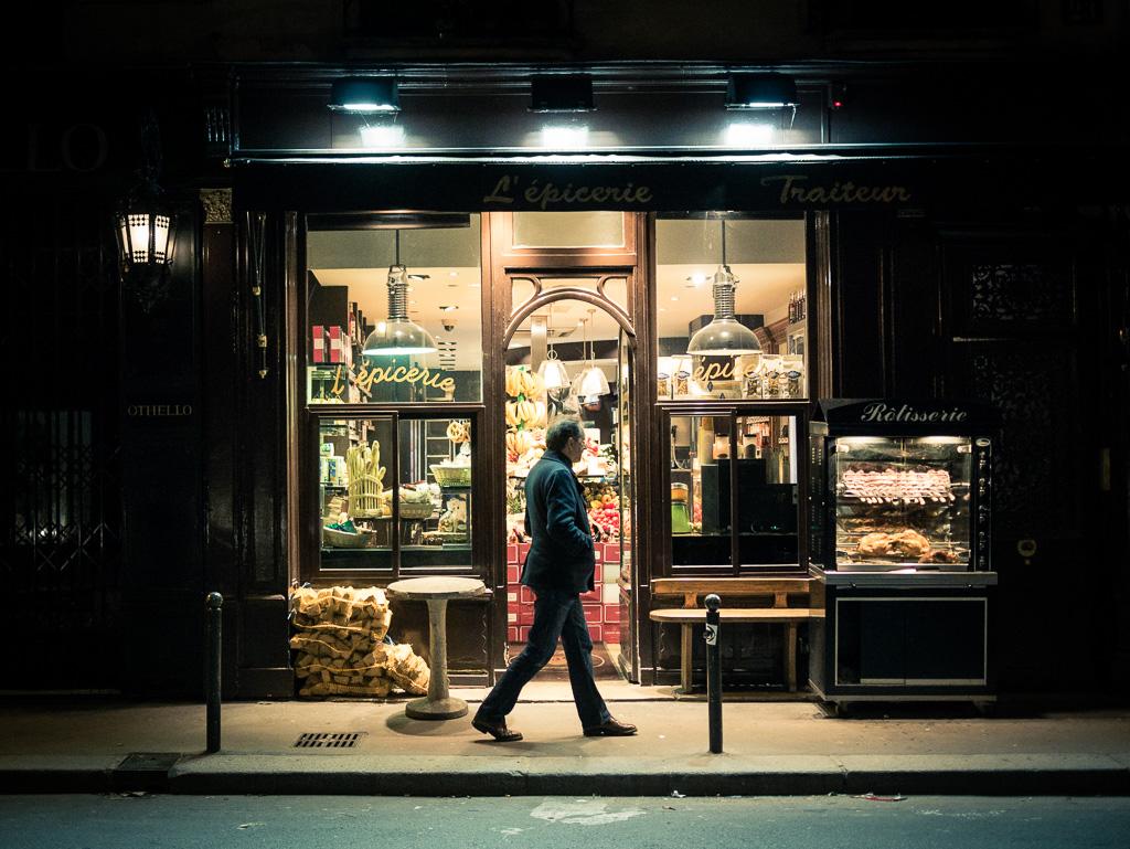 L'épicerie de la rue des Saints-Pères.