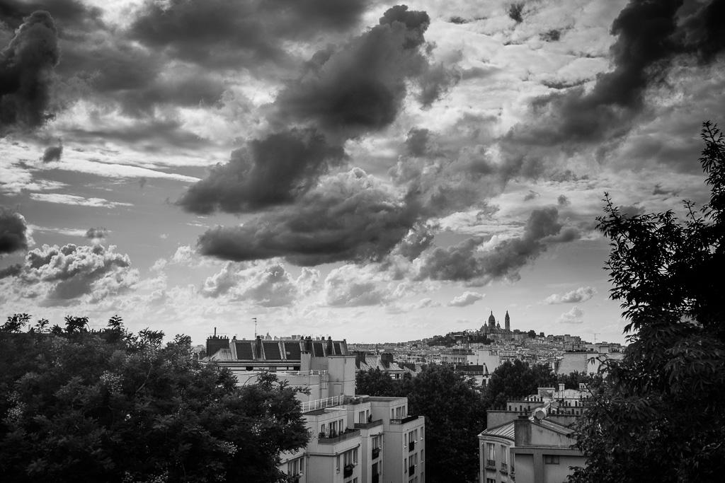 Cloudy Montmartre.