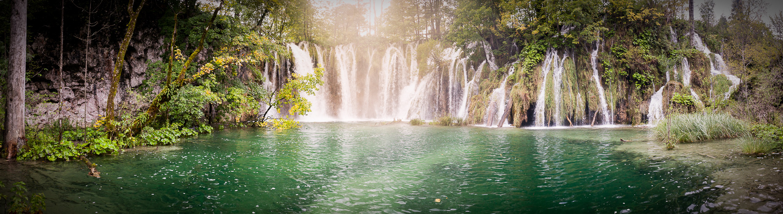 Plitvice waterfalls.