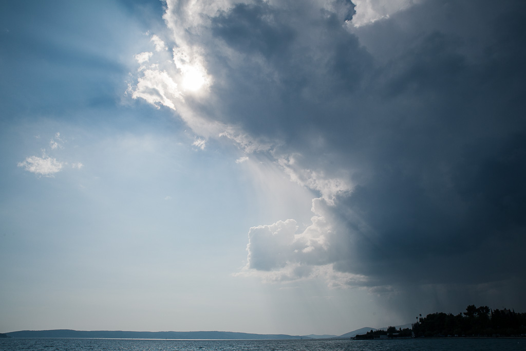 Upcoming storm.