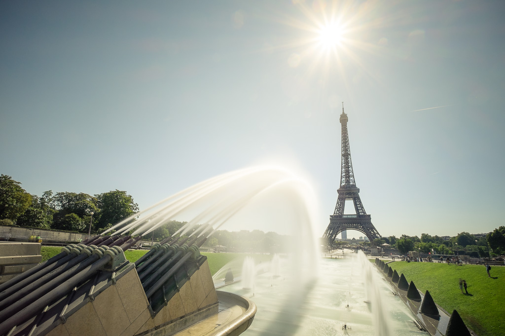 Sunny tower.