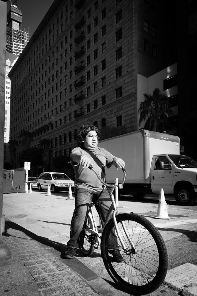 LA biker.