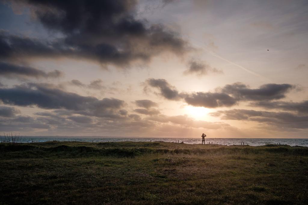 Sunset over Quiberon.