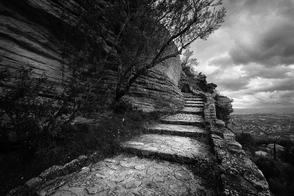 Rocky path.