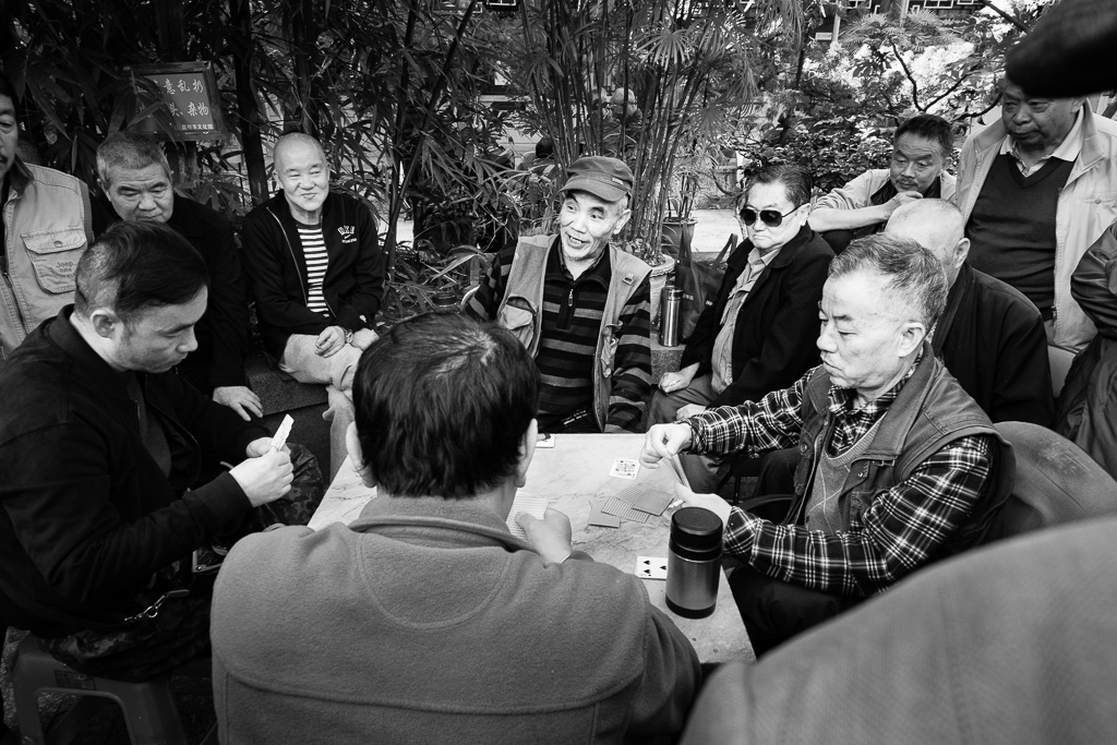 The Kunming card players.
