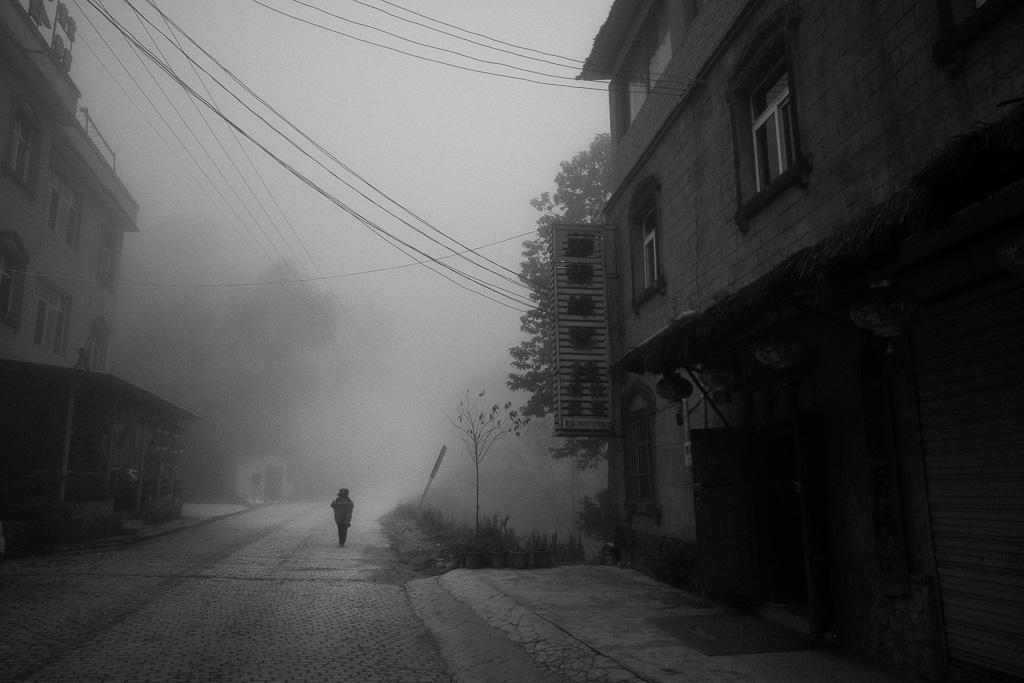 Misty morning in Duoyishu.