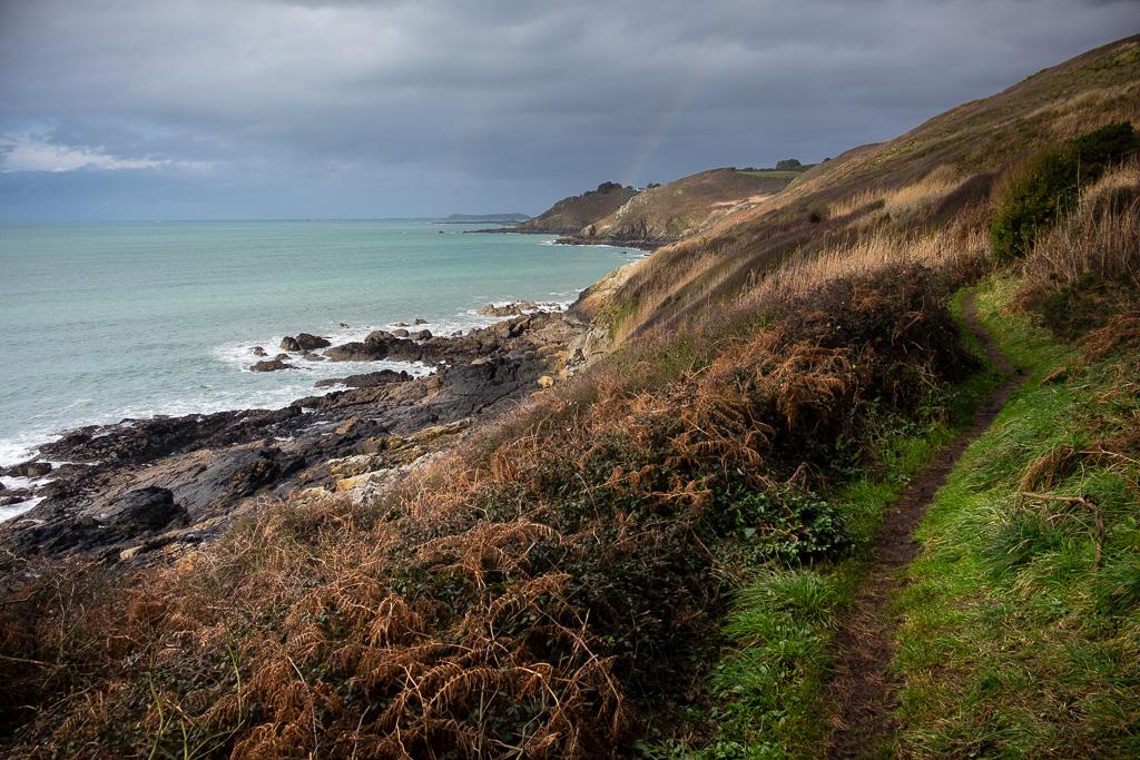 The coastal path of Trédrez-Locquémeau.