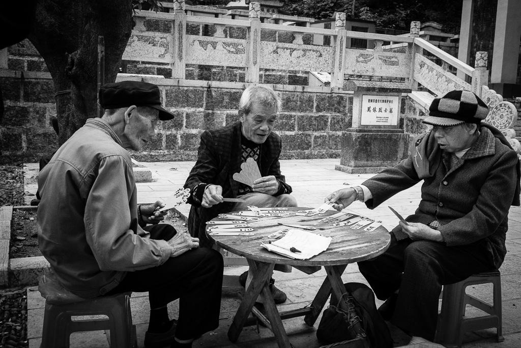 Zì-paǐ players.