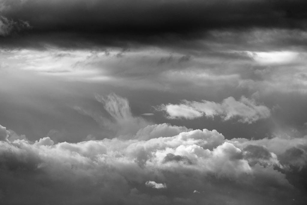 Silver sky.