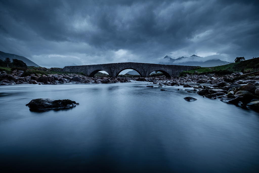 Sligachan stone bridge.