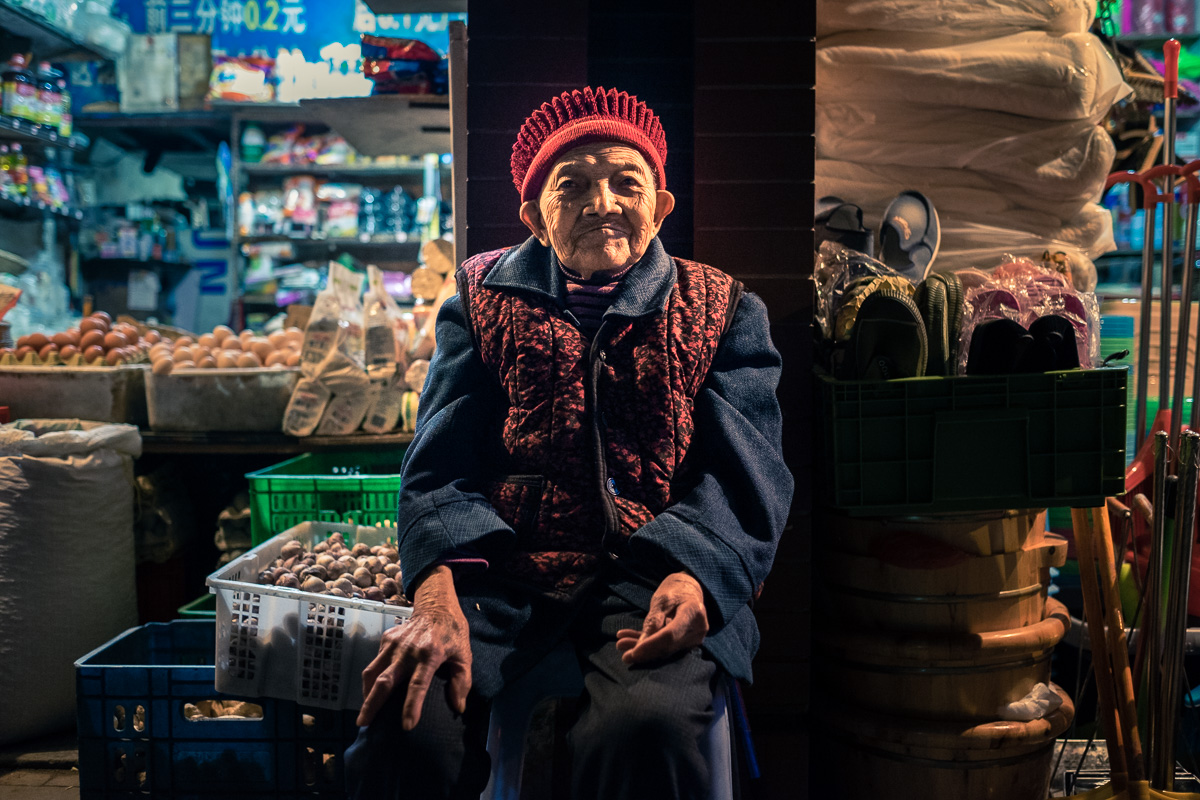 The old shop keeper.