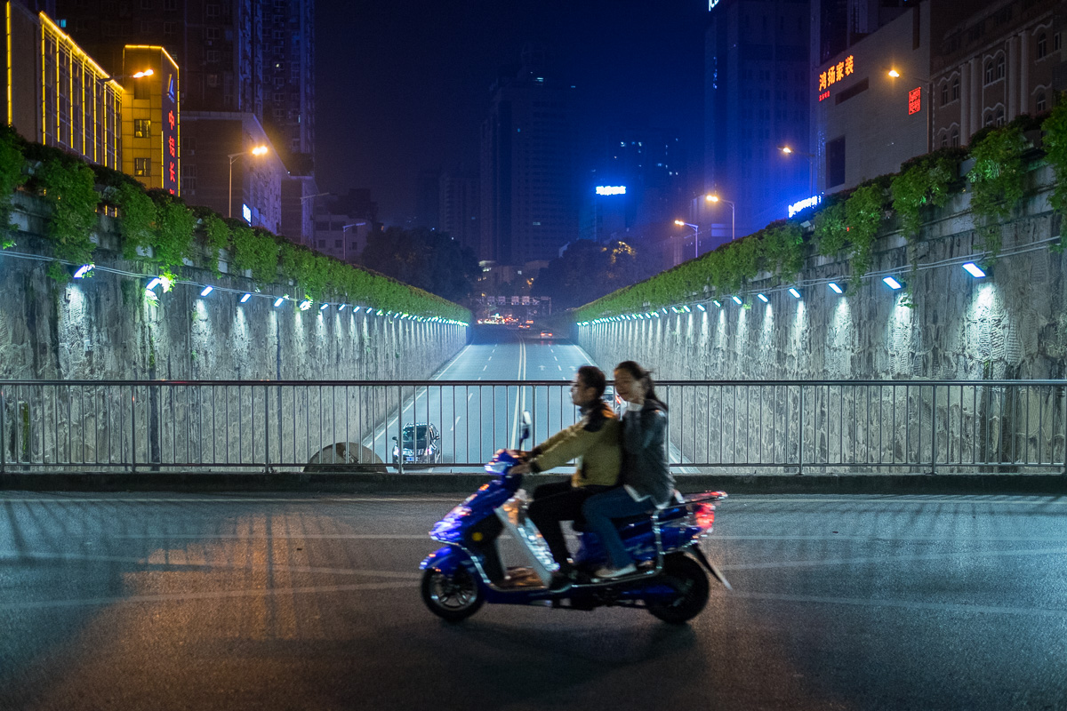 A ride in Changsha.
