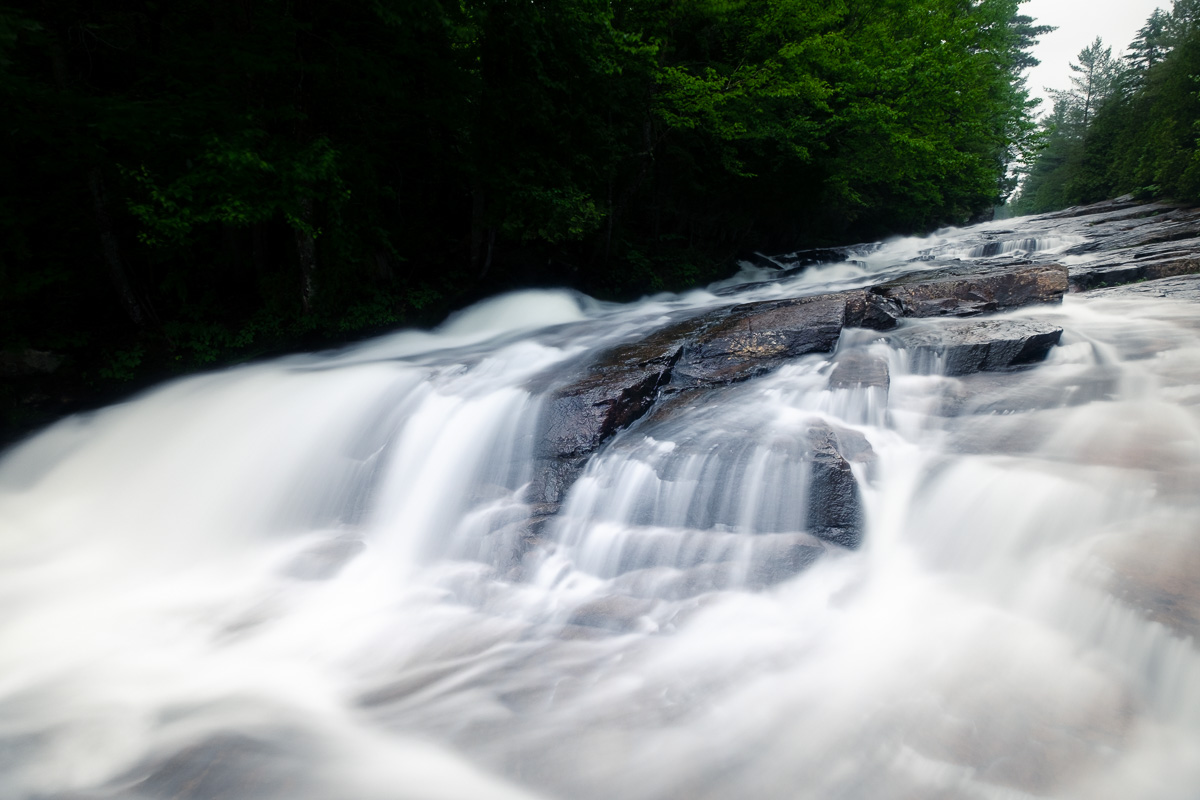 A long exposure at the cascades.