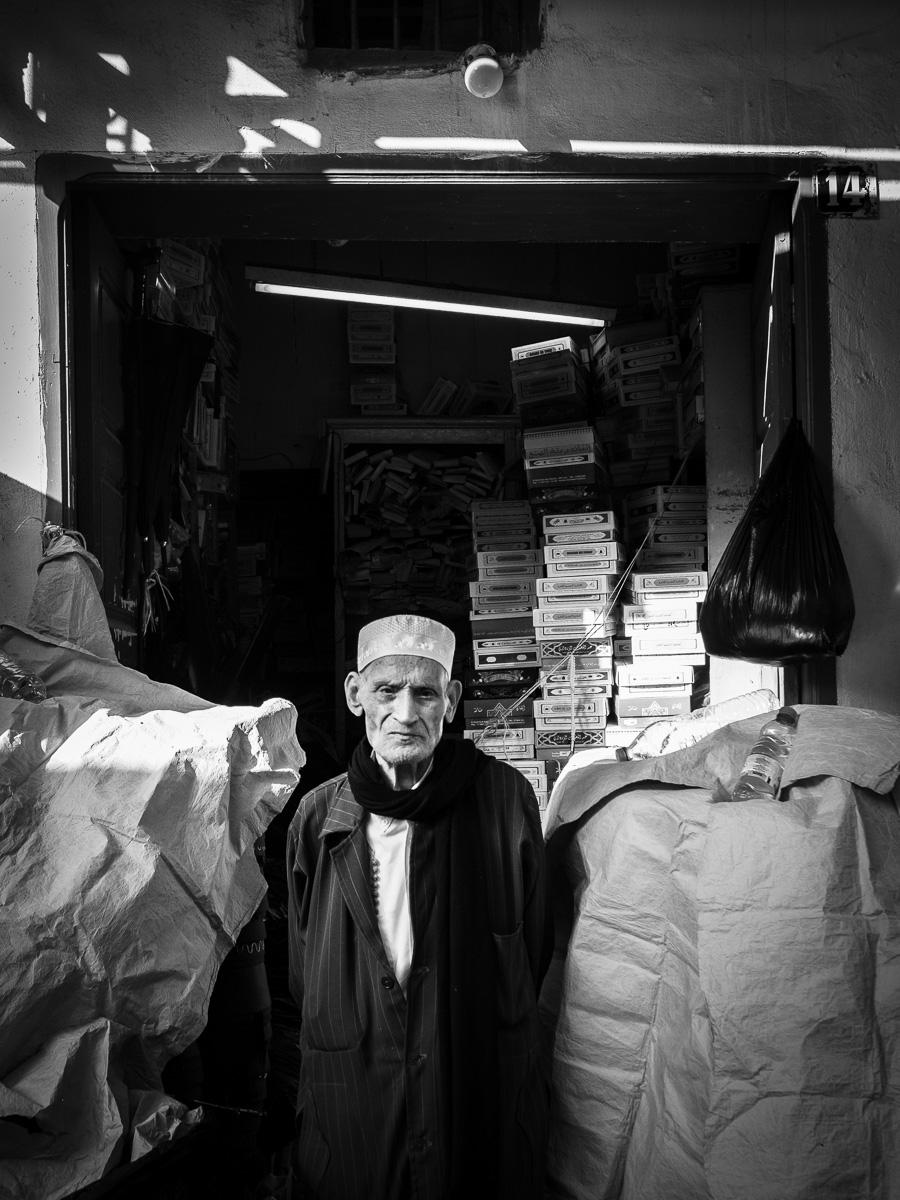 The seller of Fez.