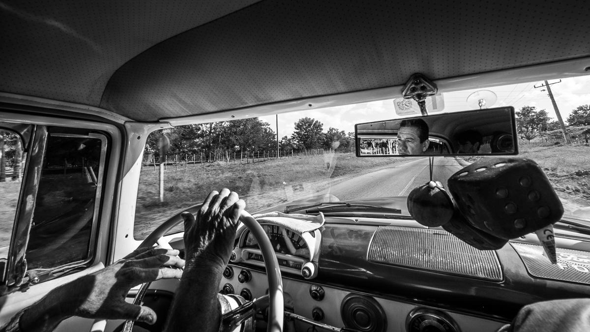 Cuban taxi ride.