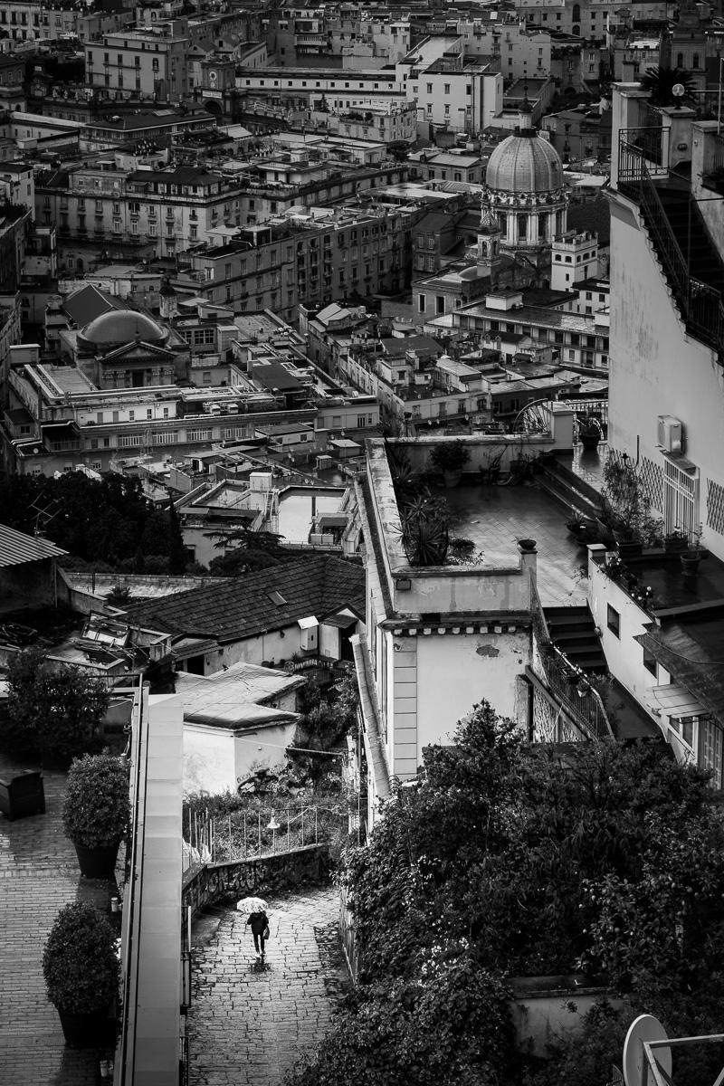 Down Castel Sant'Elmo.