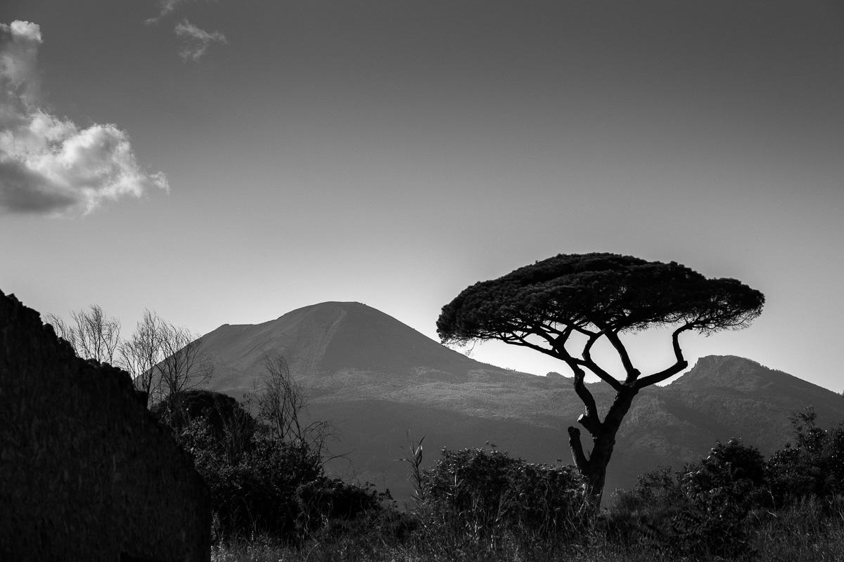 Vesuvius from Pompei.