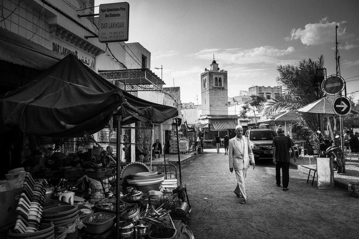 In the Souk El Marr.